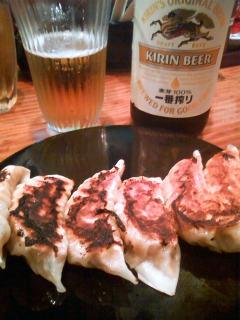 beer_gyouza